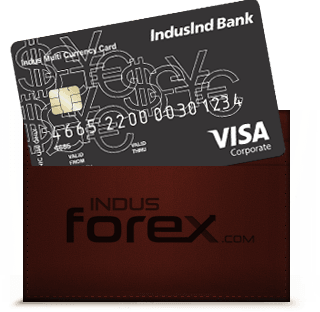 Buy Indus Forex Card - Multi Currency Foreign Travel Card